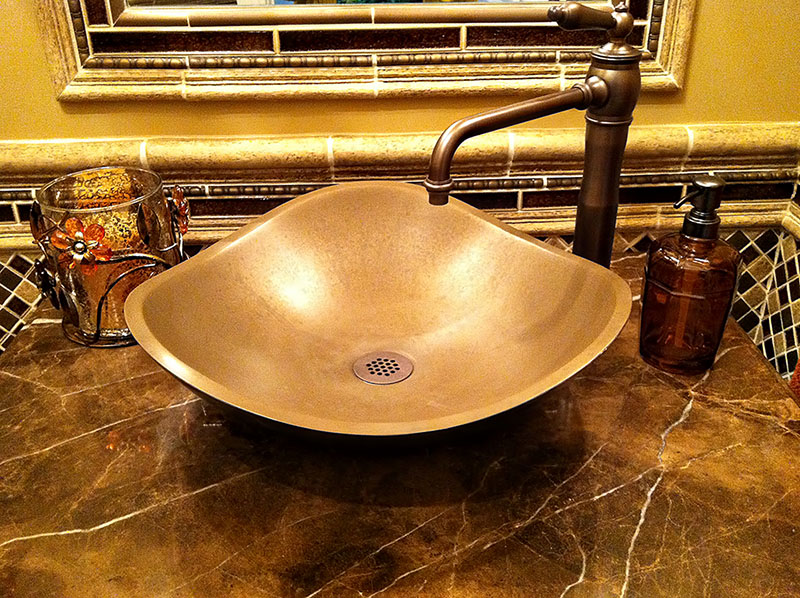 Bronze Sink Detail