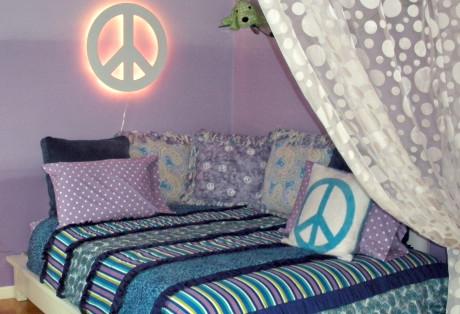 Purple Tween Bedroom