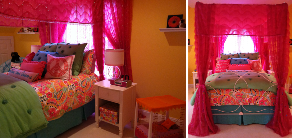 Colorful Tween Bedroom