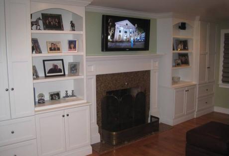 Fireplace Bulit-Ins
