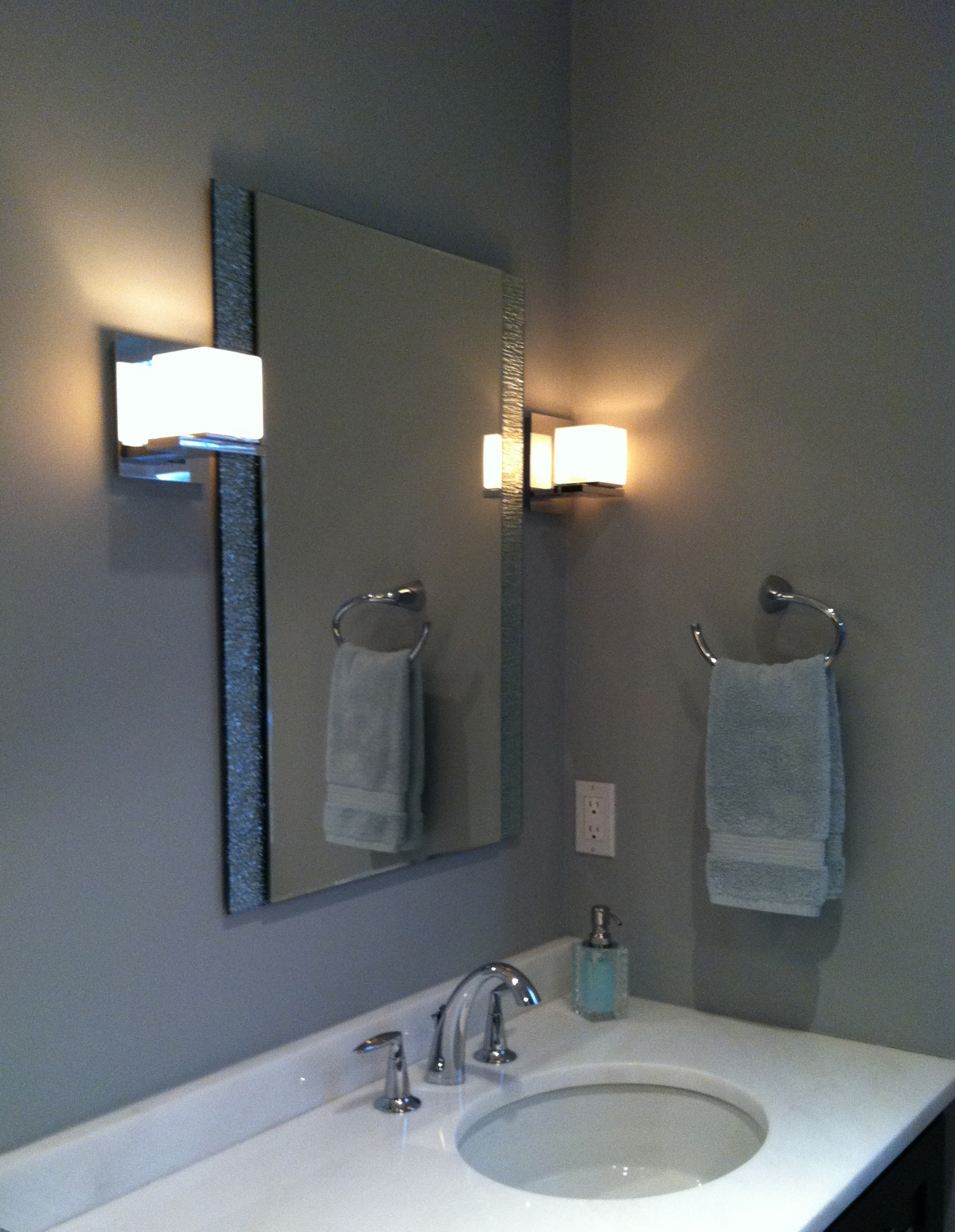 Modern Bathroom Vanity Detail