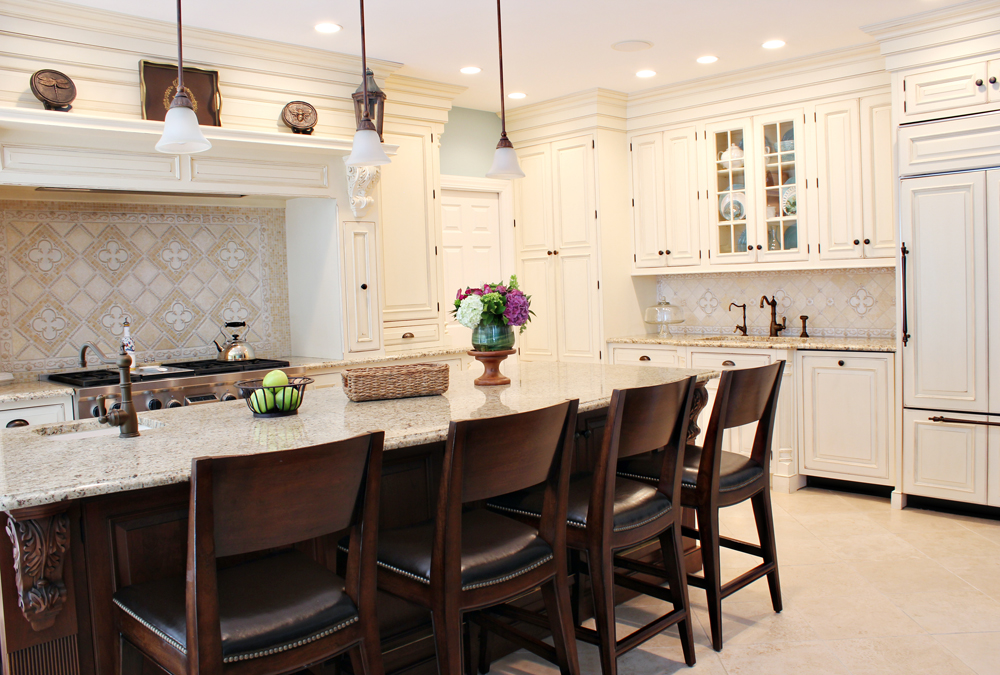 bright custom kitchen