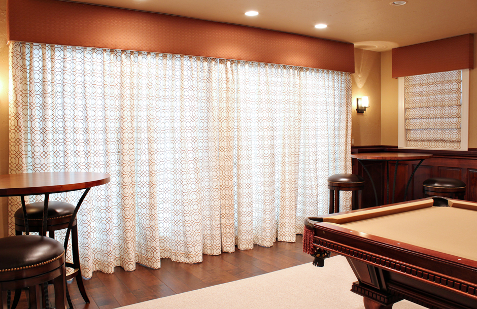 Custom Embroidered Drapes