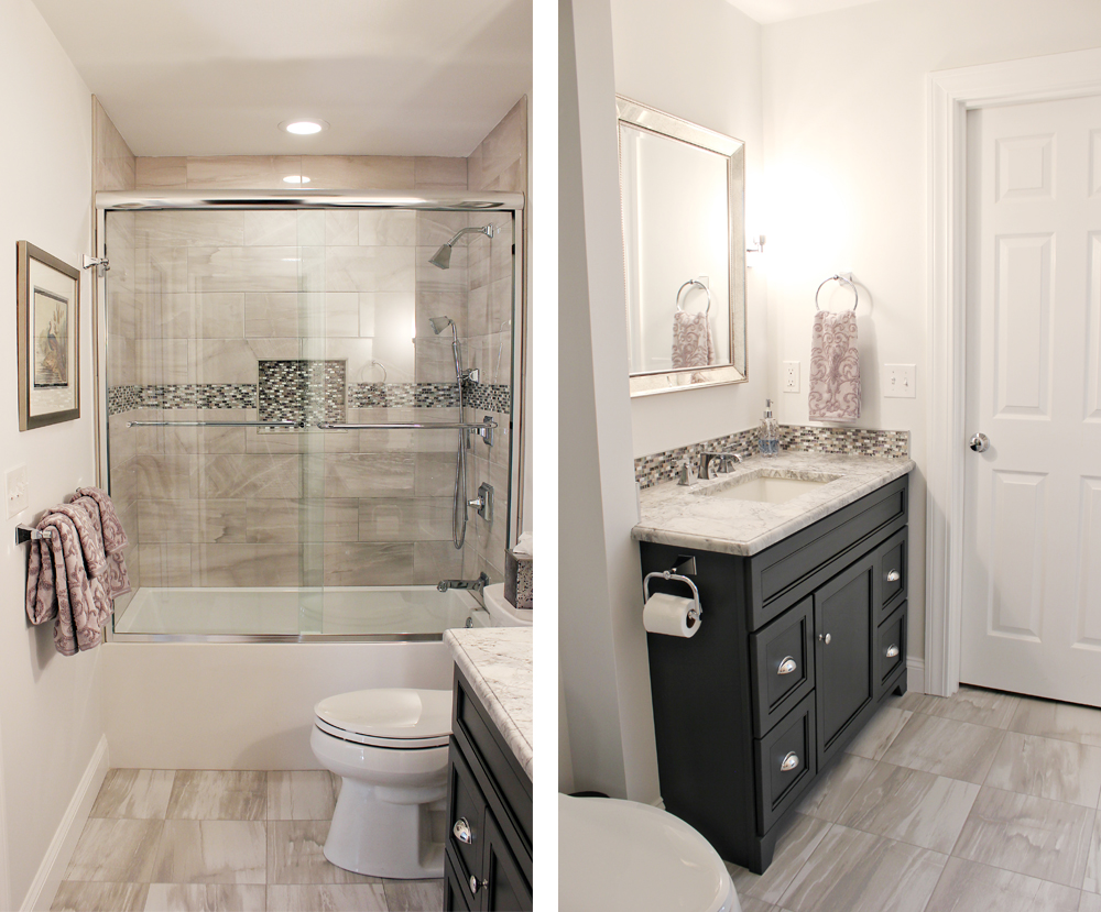 renovated serene bathroom
