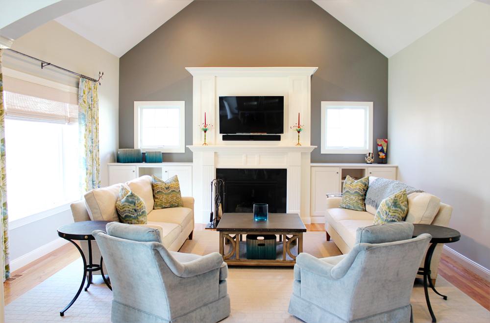 Serene Family Room